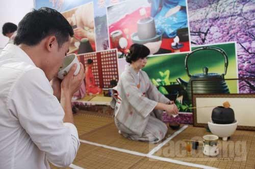 Giao lưu, văn hóa, Nhật Bản, Bắc Giang
