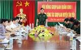 Quân khu 1: Kiểm tra công tác giáo dục quốc phòng và an ninh tại Bắc Giang