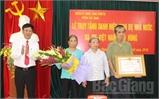 """Truy tặng danh hiệu vinh dự Nhà nước """"Bà mẹ Việt Nam Anh hùng"""" cho mẹ Lý Thị Lừu"""