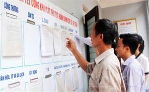 """Cải thiện chỉ số hiệu quả quản trị và hành chính công: Nỗ lực """"ghi điểm""""  với người dân"""