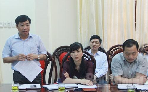 Làm việc, Ban Nội chính Tỉnh ủy, Bí thư Tỉnh ủy,  Bùi Văn Hải,  chỉ đạo, phát hiện, tham nhũng