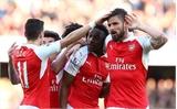 Welbeck ghi siêu phẩm, Arsenal vươn lên vị trí thứ 3