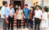 Các ứng cử viên ĐBQH tiếp xúc cử tri huyện Yên Dũng