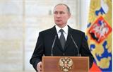 Dân Nga ủng hộ ông Putin cao kỷ lục bất chấp khủng hoảng