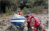 Tìm thấy mảnh vỡ máy bay chở quan chức Malaysia