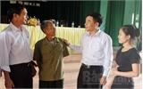 Ứng cử viên đại biểu HĐND tỉnh tiếp xúc cử tri tại huyện Tân Yên
