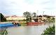 Bảo vệ đê sông Thương trong mùa mưa bão