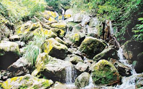 Phật Sơn, suối Nước Vàng