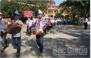 Việt Yên: Sôi nổi tuyên truyền về bầu cử ĐQBH, HĐND các cấp