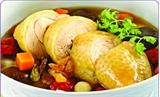 Cách nấu món gà tần mực thơm ngon