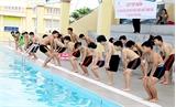 Lục Nam: Dạy bơi cho trẻ em các xã miền núi