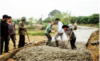 Gần 4,3 tỷ đồng hỗ trợ xây dựng nông thôn mới