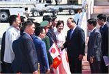 Thủ tướng bắt đầu chuyến thăm, dự Hội nghị G7 mở rộng tại Nhật Bản