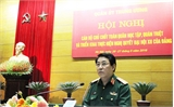 Quân ủy Trung ương quán triệt Nghị quyết Đại hội Đảng lần thứ XII
