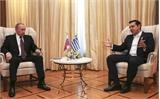 Ông Putin gửi thông điệp tới châu Âu trong chuyến thăm Hy Lạp