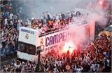 Lễ rước cúp vô địch Champions League hoành tráng của Real Madrid