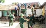 Lực lượng vũ trang Yên Thế: Cùng dân xây dựng đời sống mới