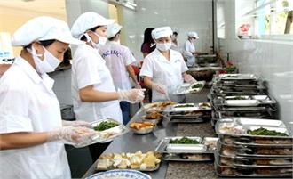 Phạt bếp ăn tập thể của Công ty TNHH Fuhong 15 triệu đồng