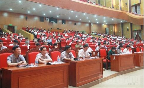 Hội nghị trực tuyến học tập, quán triệt và triển khai Nghị quyết Đại hội XII của Đảng