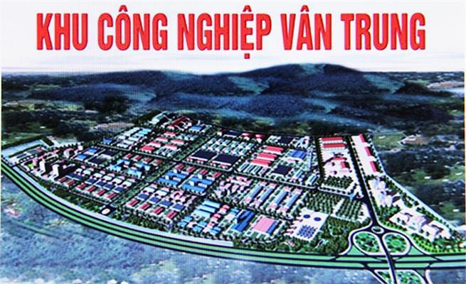 Điều chỉnh quy hoạch chi tiết KCN Vân Trung
