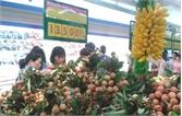Siêu thị ở TP.Hồ Chí Minh bán hàng trăm tấn vải thiều