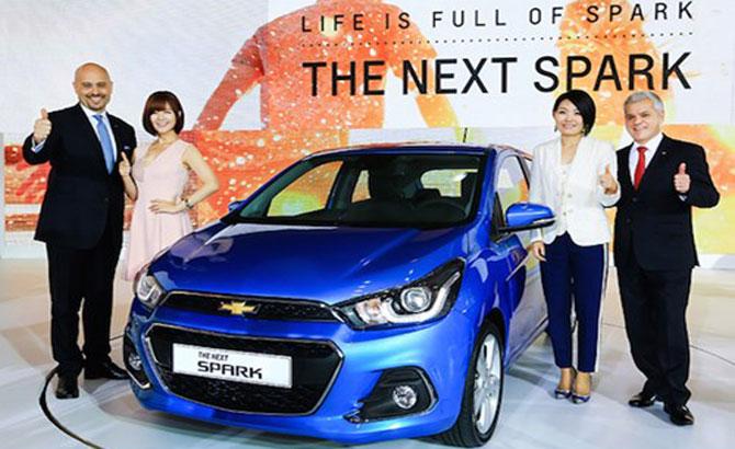 """Chevrolet """"trình làng"""" Spark 2016 giá 233 triệu tại Hàn Quốc"""