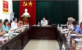 Thẩm tra tờ trình, dự thảo Nghị quyết trình kỳ họp thứ nhất, HĐND tỉnh