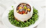 Bò hầm trái dừa
