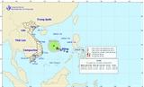 Tin mới nhất áp thấp nhiệt đới trên biển Đông