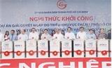 Thủ tướng Nguyễn Xuân Phúc dự lễ khởi công dự án chống ngập
