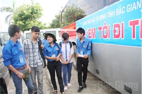 Bắc Giang: Sẵn sàng hỗ trợ thí sinh dự thi THPT Quốc gia
