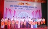 Việt Yên: Hội thi Công chức Văn hóa giỏi lần thứ nhất năm 2016