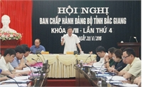 Bắc Giang: Thông qua 4 nghị quyết chuyên đề về phát triển giao thông và xây dựng Đảng