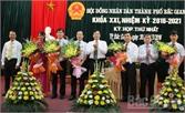 HĐND TP Bắc Giang bầu các chức danh quan trọng