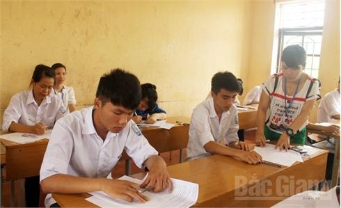 Bắc Giang: Hơn 19,2 nghìn thí sinh bước vào môn thi đầu tiên