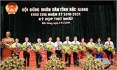 Bắc Giang: Thường trực HĐND, UBND tỉnh khóa mới ra mắt