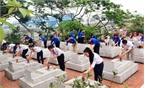 Hiệp Hòa: Ra quân chỉnh trang  nghĩa trang liệt sĩ