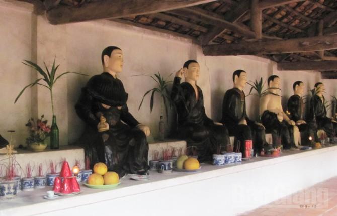Chùa Vẽ, Làng Thành, thành Xương Giang