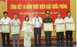 Bắc Giang: Tổng kết 10 năm thực hiện Luật Quốc phòng