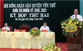 Kỳ họp thứ hai, HĐND huyện Yên Thế khóa XXI: Thông qua 7 nghị quyết