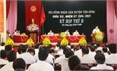 Kỳ họp thứ hai, HĐND huyện Yên Dũng: Chất vấn nhiều vấn đề nổi cộm