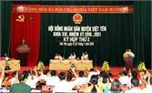 HĐND huyện Việt Yên khóa XIX, nhiệm kỳ 2016-2021 tổ chức kỳ họp thứ 2