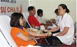 Chương trình 'Tôi yêu sự chia sẻ' hiến 57 đơn vị máu