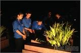 Tuổi trẻ Bắc Giang: Thắp nến tri ân các Anh hùng liệt sĩ
