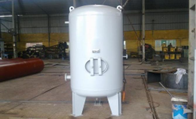 Thiết kế, chế tạo bình tích áp 3000 lit và cải tiến hệ thống đường khí nén sạch phục vụ sản xuất
