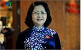 Bà Đặng Thị Ngọc Thịnh tiếp tục được bầu làm Phó Chủ tịch nước