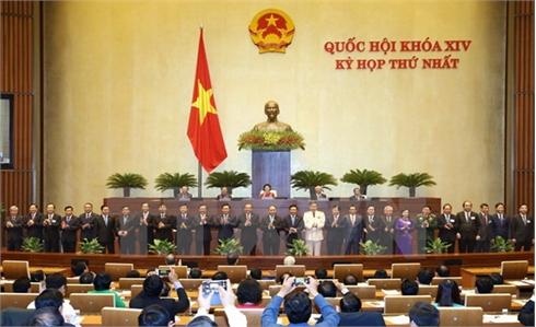Quốc hội phê chuẩn đề nghị bổ nhiệm 27 thành viên Chính phủ