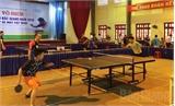 Khai mạc Giải vô địch bóng bàn tỉnh Bắc Giang năm 2016