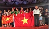 Học sinh Việt Nam giành hai huy chương Vàng thi khoa học quốc tế