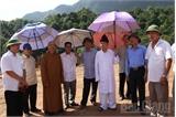 Bắc Giang: Chuẩn bị các điều kiện đưa vật liệu xây dựng về Khu văn hóa tâm linh Tây Yên Tử
